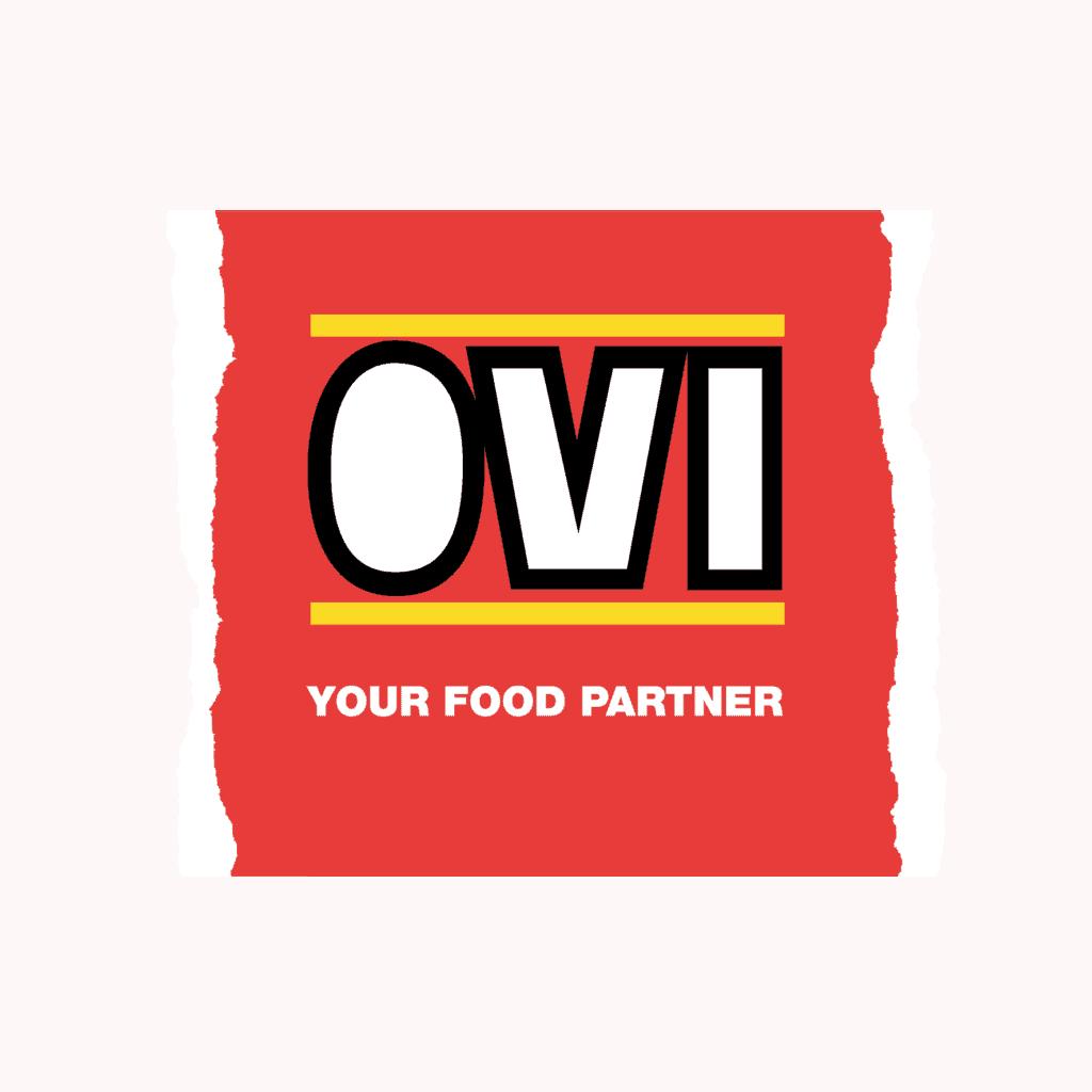 OVI logo - witte tekst